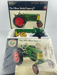 Precision Series 5 The Oliver Model Super 77 Wide Front 1/16 Scale Toy Tractor