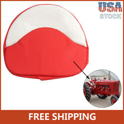 New Tractor Seat Cushion Padded Fit For Farmall H M Series 300 450 Cub