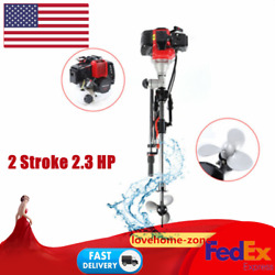 2 Stroke 2.3hp Outboard Motor Fishing Boat Parts Engine And Water Cooling System