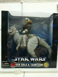 Used Figures--star Wars Collector Series Han Solo And Tauntaun Hobby