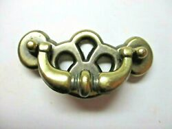 Herratec Drawer Drop Bail Pull Handle Aged Brass 2-1/2 Centers Matches 627 3743
