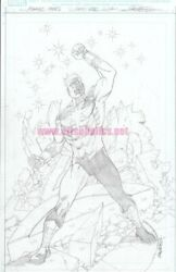 Marvel Tales Genis-vell 1 Original Comic Cover Art By Carlos Pacheco Mcu