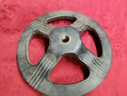 25 Lb Antique/vintage Ford Gumball Machine Heavy Cast Iron Stand Base Coin Op