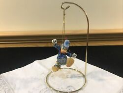 Jim Shore Disney Traditions Donald Duck Donald With Lights With Stand Rare Htf