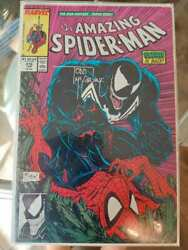 The Amazing Spiderman 316 Signed Copy By Todd Mcfarlane