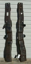 87 - 97 Ford F250 F350 Obs Long Or Short Bed Rear Frame Rail Sections - 70 Oem