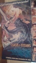 Clash Of The Titans Lobby Standee Poster 1981