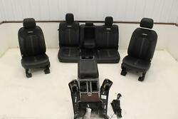 2015 16 Ford F150 Platinum Complete Seat Set Front Rear Ventilated Console Oem