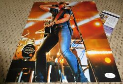 Luke Bryan Signed 11x14 Photo Autograph Jsa Auth Coa Drink A Beer Country Music