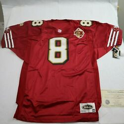 Nfl San Francisco 49ers Steve Young Signed 8 Jersey Size 48 With Coa