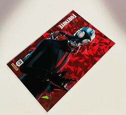 2020 Panini Fortnite Series 2 Chaos Agent 154 Sp Cracked Ice Holo Card U.s.a