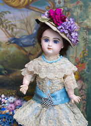 15in 38cm Antique French Bisque Jumeau Bebe Doll Size 6