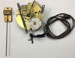 Electric Sangamo Clock Movement With Chime Rod And Hands