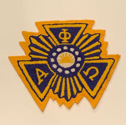 Alpha Phi Omega A Φ Ω Chenille Patch
