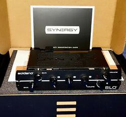 Synergy Soldano Slo Module 2-channel All-tube Preamp Priority Shipping