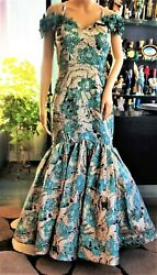 Formal Evening Weddings Special Events Spectacular MERMAID STREPLESS Size 12 $690.00