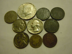 Lot Of 9 Coins...3 Nazi...4 Silver...all Diff