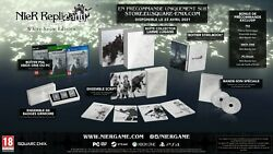 Nier Replicant Edition Collector White Snow Ps4 Steelbook Playstation 4 Fr Neuf