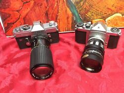 2 Vintage Cameras For Display Only As They May Not Work - Sold As Is Lot 111