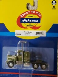 Ho Athearn Kenworth Owner-operator Tractor
