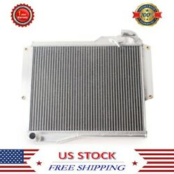 3 Row Aluminum Radiator For 1977 1978 1979 1980 Mg Mgb Gt/roadster 1.8 Engine Mt