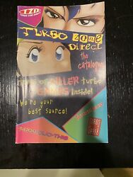Turbo Grafx Turbo Zone Direct Catalog Plus Insert And Fold Out Graphic Ad - Rare