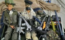 Gi Joe 12 Inch Action Figures With Accessories