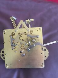 Hermle Black Forest 451-050 H 94 Cm Grandfather Clock Movement Parts Or Repair