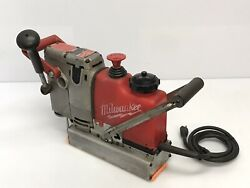 Milwaukee Heavy Duty Steel Hawg 4240 1-1/16 Magnetic Drill 11.5 Amps 120v