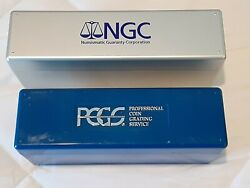 Official Ngc And Pcgs Certified Coin Holder Slab Storage Boxs