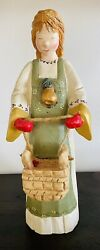 Rare 1999 House Of Hatten Large Maids A' Milking Figurine - Denise Calla Signed