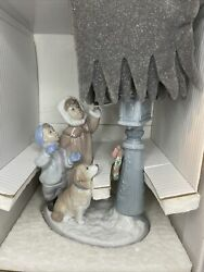 Lladro Father Christmas - The Spirit Of The Stars Holiday Wishes 8010 Rare