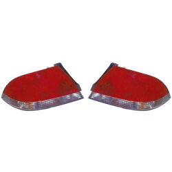 For 2004-2007 Mitsubishi Lancer Pair Driver And Passenger Side Tail Light Capa