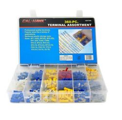 Cal Hawk 360-pc. Electrical Wire Terminal Assortment With Storage Case