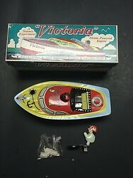 Schylling Victoria Tin Toy Boat Steam Powered Science Experiment