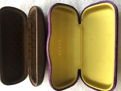Authentic Sunglass Case Price Is For Both Of The Cases. The Gold And Velvet