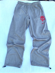 Manny Pacquiao Nike Therma Fit Mens Boxing Pants Gray Heathered Elastic Waist L