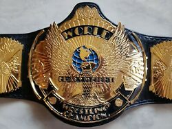 Winged Eagle With The World College Wrestling Championship Belt