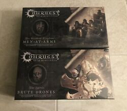 Conquest The Last Argument Of Kings - 2 New Sealed Figure Sets Brute Men-at-arm