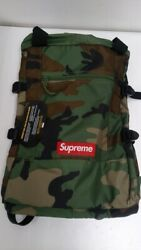 Supreme 19ss Tote Backpack Woodland Camo Tote Backpack Duck