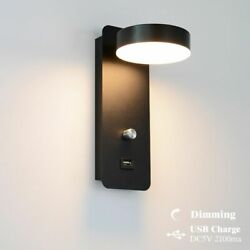 Indoor Led Wall Lamps Usb Charge Led Dimming Wall Light Modern Wall Lamp Stair