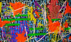 More To The Story 2015, Acrylic On Canvas 30 X 18 Inches, Original Painting Fdlm