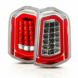 Anzo For Chrysler 300 2011 2012 2013 2014 Tail Lights Led Chrome W/ Sequential