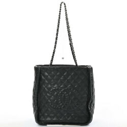 Chain Tote Tote Bag Calf/stainless Steel Women
