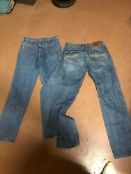 Wrangler 20x 32x36and Cinch Jeans 32x34