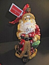 Waterford Holiday Heirlooms Father Christmas Santa Ornament 2013 New 162968