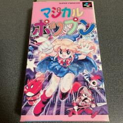 Magical Popand039n Sfc Super Nintendo Japanese Ntsc-j Ver. Game 1995 From Japan F/s