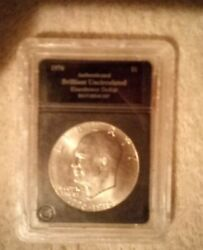 1965 Eisenhower Silver Dollar Lot 1 Of 2 Buy Now 1,400 With A Bonus Coin Free..