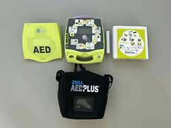 Zoll Aed Plus Defibrillator + New Batteryandrsquos And Zoll Cpr-d Padz 2026