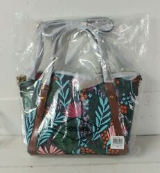 Brand New Fossil Floral Avondale Satchel NWT